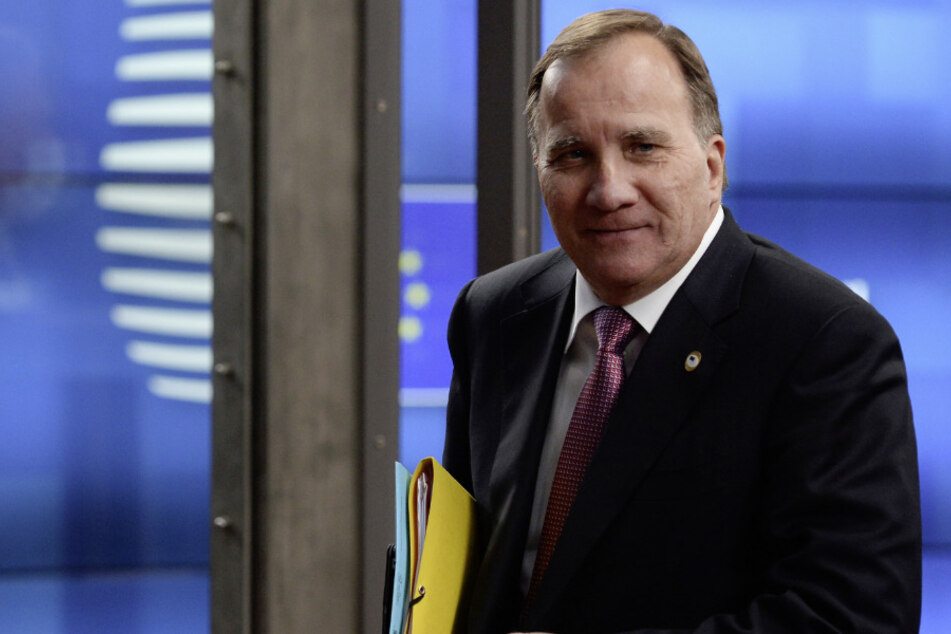 Regierungschef Stefan Löfven (63).