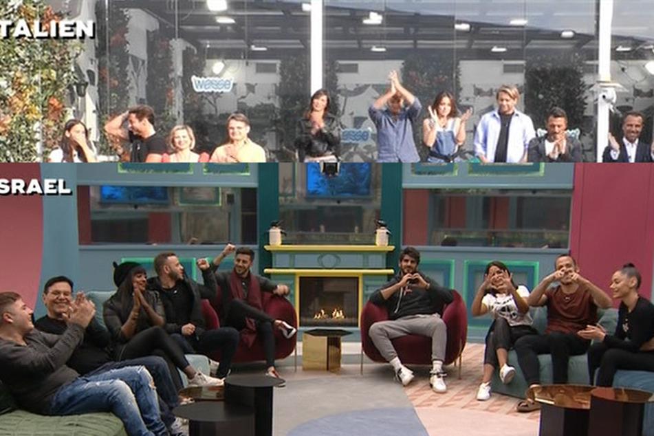 Big Brother international: Aus Israel und Italien kommen Grüße für die deutschen Bewohner - mit lautem Lachen und süßen Gesten!