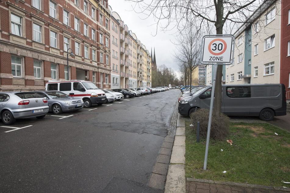 Hier in der Stiftstraße auf dem Sonnenberg soll Tempo 30 erweitert werden.