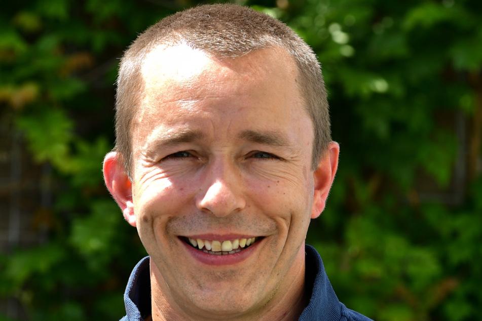 Monarchs-Geschäftsführer Jörg Dreßler .