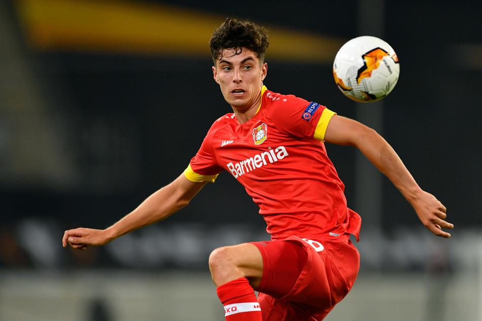 Kai Havertz (21), Ausnahme-Fußballer, spielt noch bei Bayer Leverkusen.