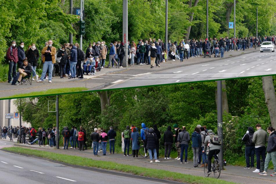 Köln: Irre Warteschlange mitten in Köln: Das steckt dahinter