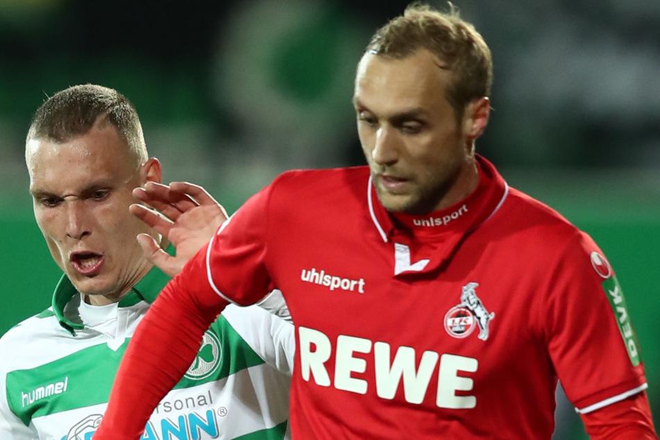 Marcel Risse (30, r.) soll vor einem Transfer zu Viktoria Köln stehen.