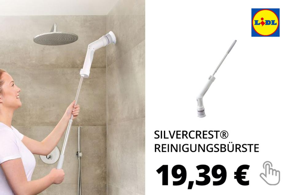 SILVERCREST® Reinigungsbürste »SRBX 2200 B2«, 3 Aufsätze