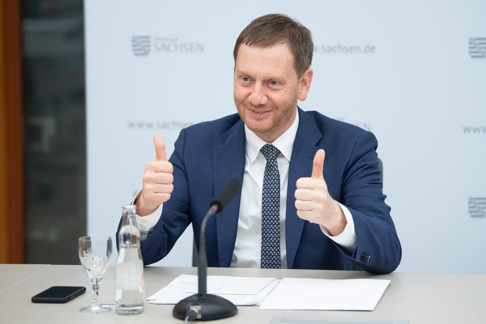 Michael Kretschmer (45, CDU).