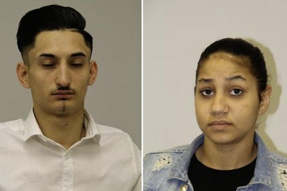 Lintone S. (17, r.) und Mustafa H. (20) werden von der Polizei gesucht. Sie sollen dem Jugendamt ihr eigenes Kind entzogen haben.