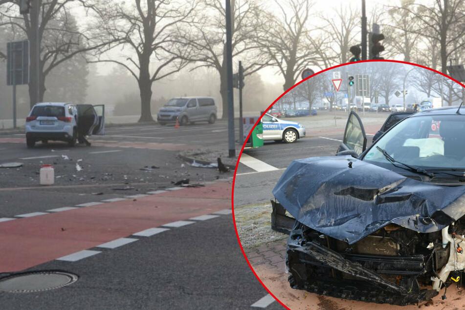 Heftiger Zusammenstoß in Hoyerswerda: Mehrere Verletzte, darunter auch Kinder!