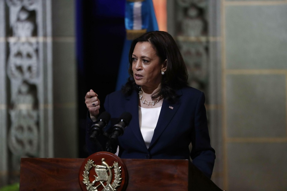"""Vice President Kamala Harris spoke at a press conference in Guatemala, where she warned potential migrants: """"Do not come."""""""