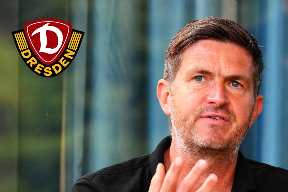 """Dynamo-Sportchef Becker zur Personalplanung: """"Ausschließen sollte man nie etwas"""""""
