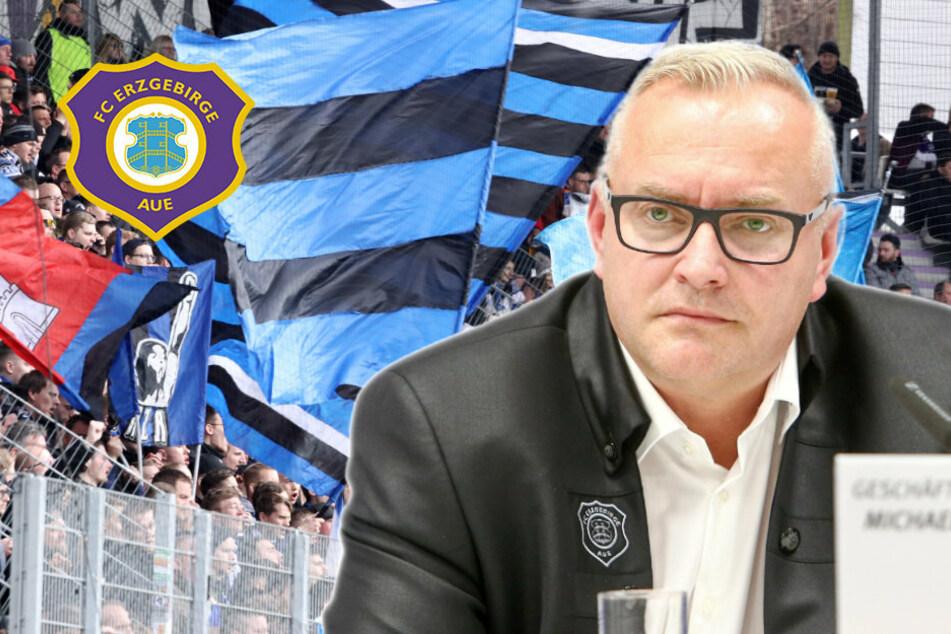 DFL-Plan: Aue will Stehplätze, Gäste-Fans und Verpflegung!