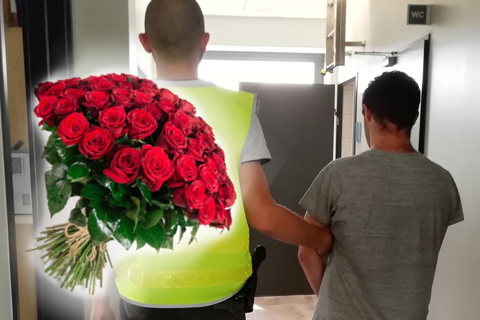 Romantischer Dieb klaut 180 Rosen vom Grab und schenkt sie zwei Freundinnen
