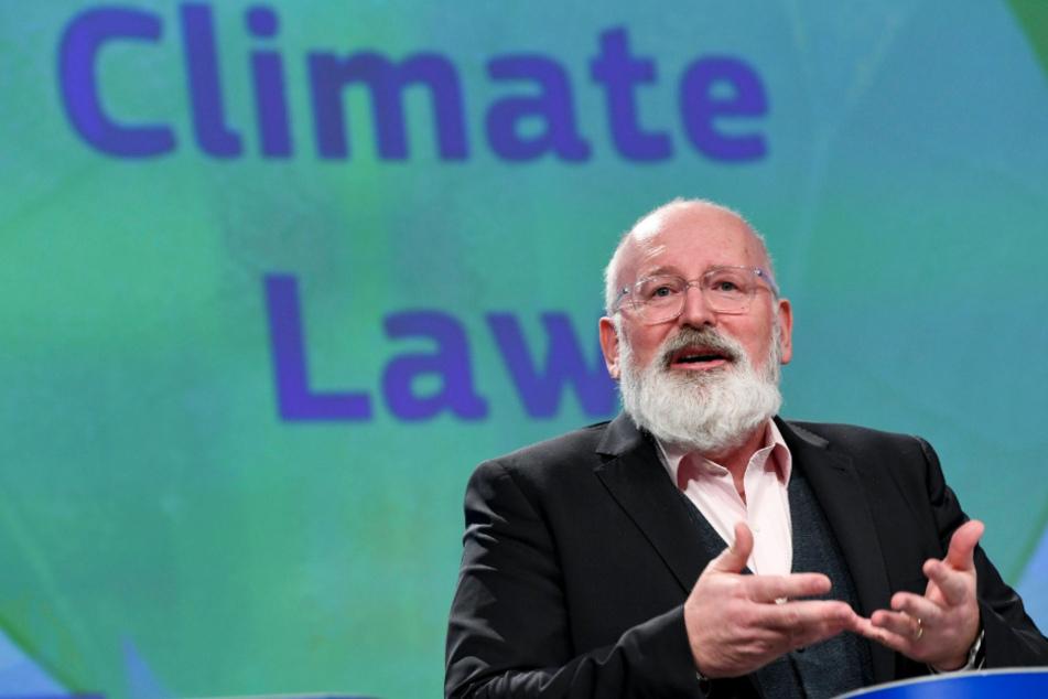 Vizepräsident der EU-Kommission, Frans Timmermans (58).