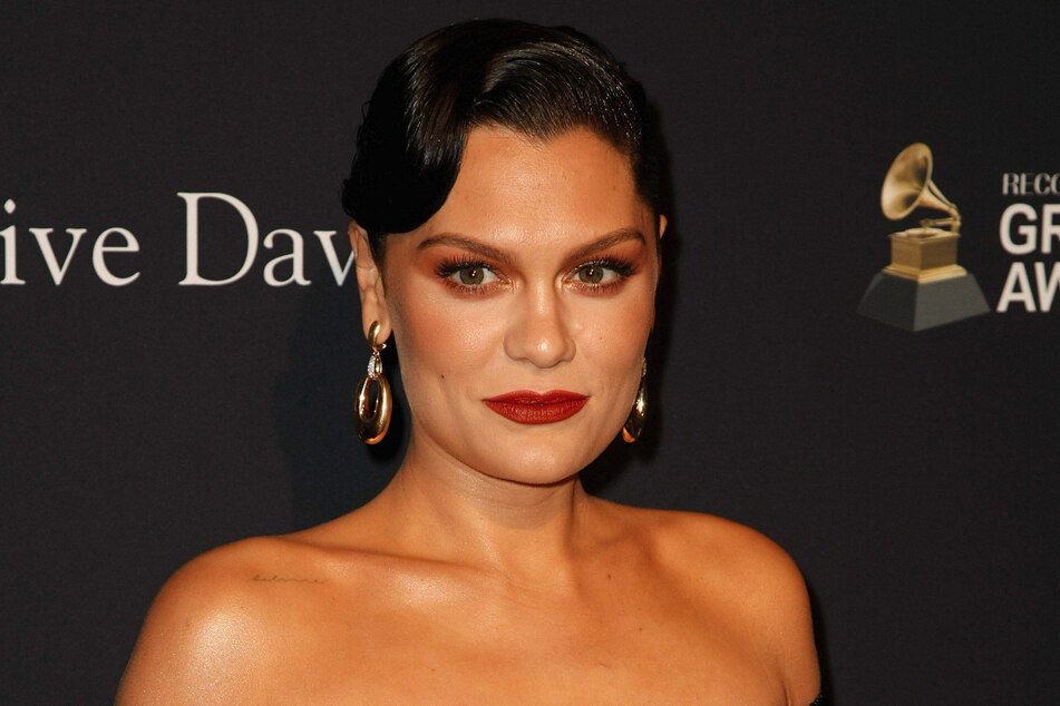 Jessie J at the Pre-GRAMMY Gala and GRAMMY Salute to Industry Icons in January.