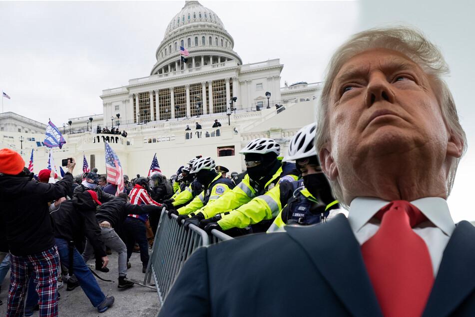Trump-Anhänger planen wohl weiteren Sturm aufs Kapitol: An diesem Tag soll es passieren!