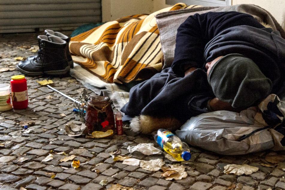 Obdachlose und die Corona-Krise: Die Linke in Hessen fordertkurzfristige Maßnahmen