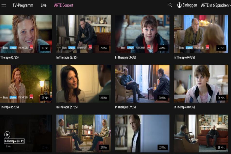 35 Episoden (je 25 Minuten) sind in der ARTE-Mediathek verfügbar.