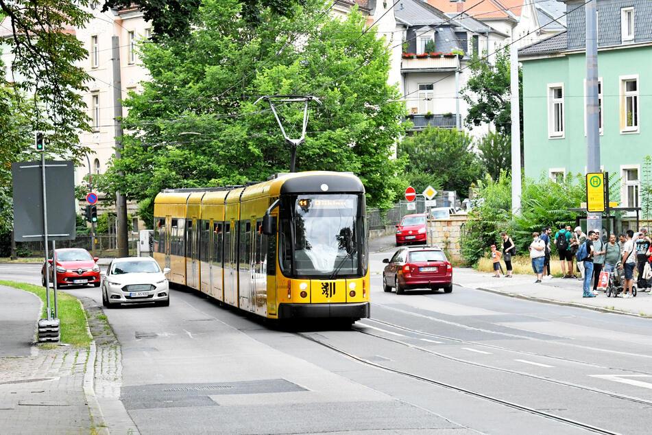 Die Stadt will die Bautzner Straße sanieren, Radler sollen mehr Platz bekommen.