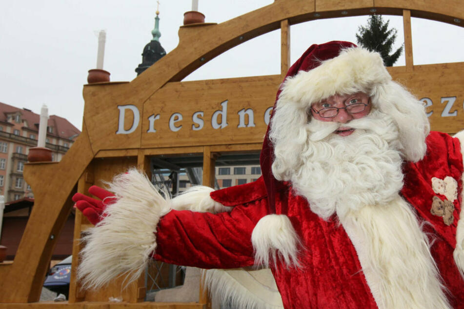 Nach Striezelmarkt-Absage: Was macht jetzt unser Weihnachtsmann?