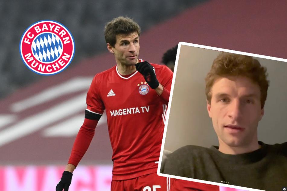FC Bayern: Thomas Müller meldet sich erstmals aus Corona-Quarantäne