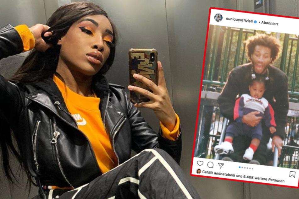 Rapperin Eunique erinnert mit rührenden Fotos an ihren toten Vater