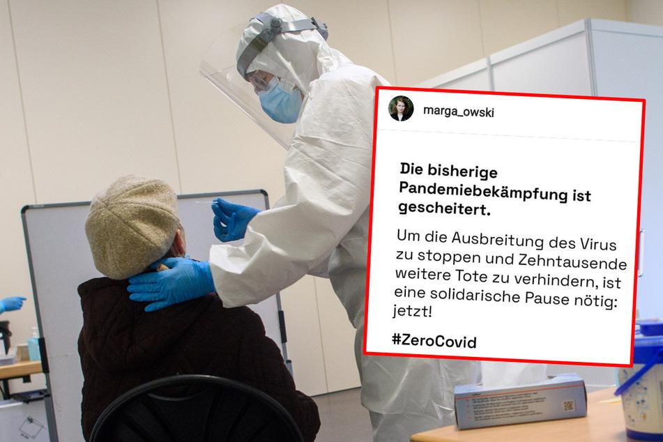 """""""Pandemie-Bekämpfung gescheitert"""": Initiative #ZeroCovid fordert europaweiten Shutdown"""
