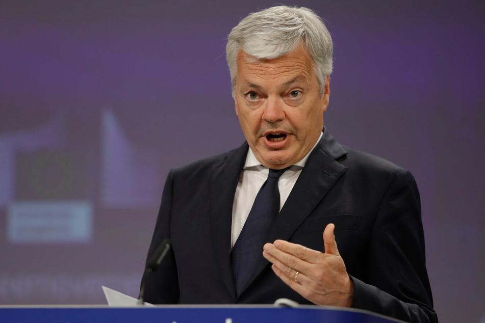 Didier Reynders (62), EU-Justizkommissar.