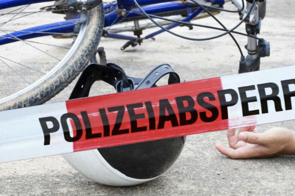 Rätselhafter Tod: Männliche Leiche neben Fahrrad aufgefunden
