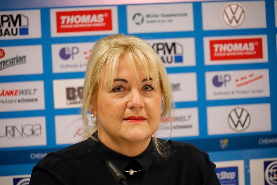 CFC-Präsidentin Romy Polster (58) sieht in der Wahl von Hermann Winkler auch Chancen für den Chemnitzer FC.