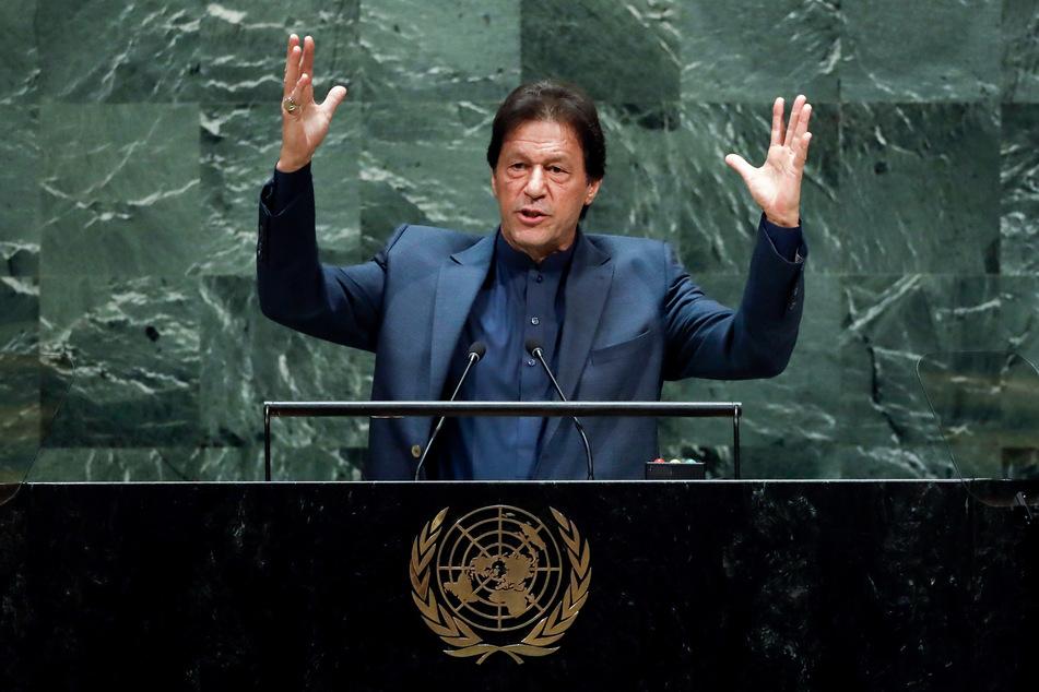 Imran Khan (68) ist seit knapp drei Jahren der Premierminister von Pakistan.