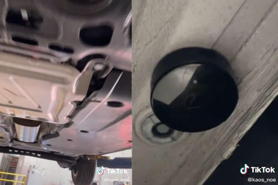 Tatsächlich: Unter dem Auto befand sich ein Tracker.