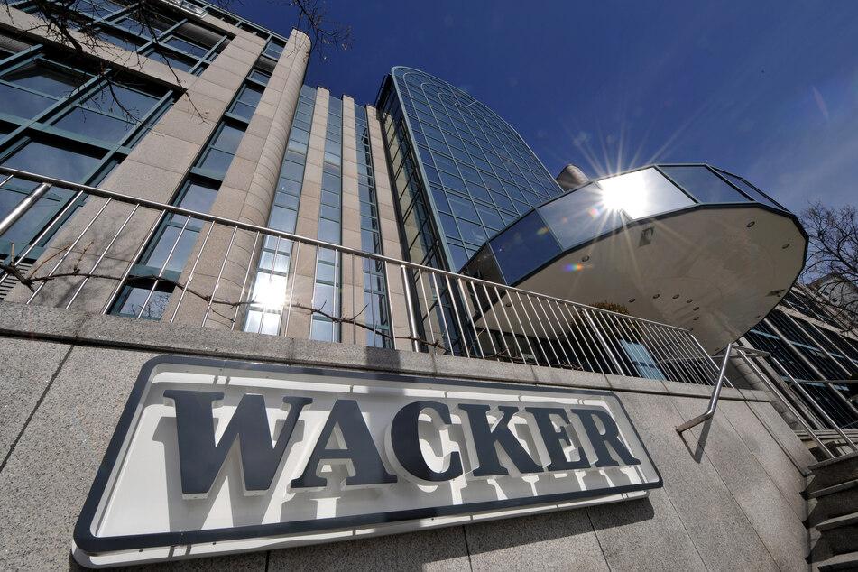 Der Hauptsitz der Wacker-Chemie in München Perlach.