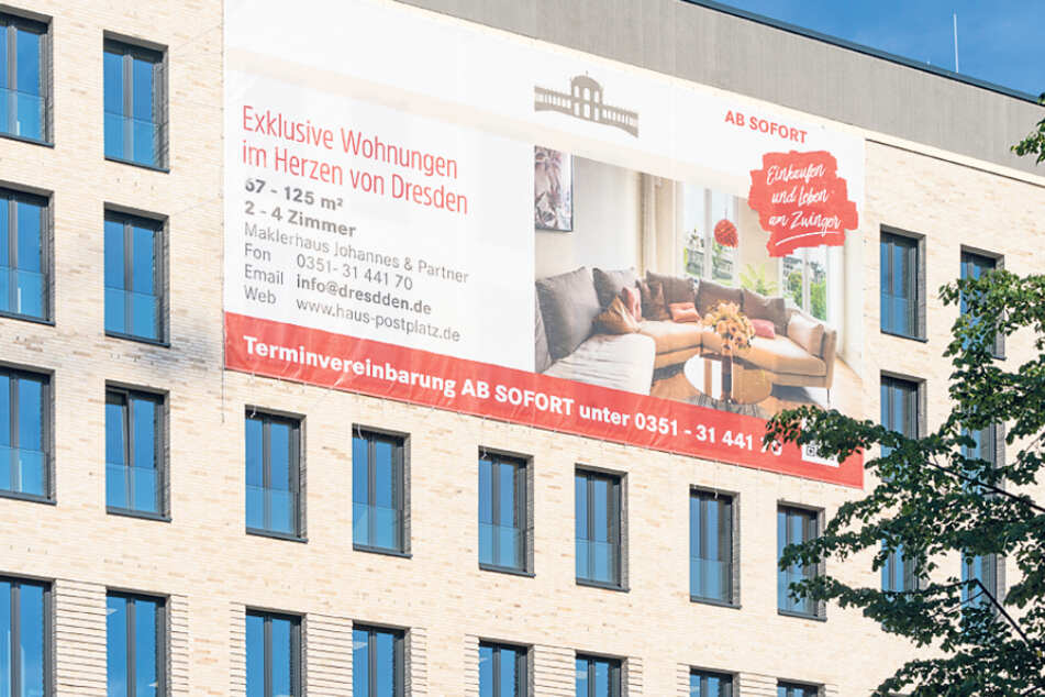 """""""Exklusive Wohnungen"""" - sind in Dresden nicht immer schnell zu vermieten."""