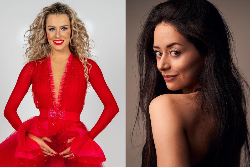 """Patricija Belousova (25, l.) und Malika Dzumaev (29) sind erstmalig als Profitänzerinnen bei """"Let's Dance"""" dabei."""