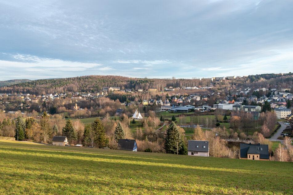 Der Kurort Bad Schlema im Erzgebirge: Hotels und Pensionen bleiben leer. Es wird mit massiven Umsatzverlusten gerechnet (Archivbild).