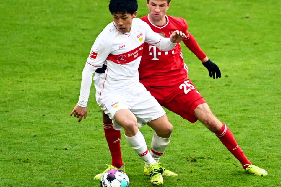 Fehlt dem VfB Stuttgart in der Vorbereitung: Wataru Endo (l., 28).