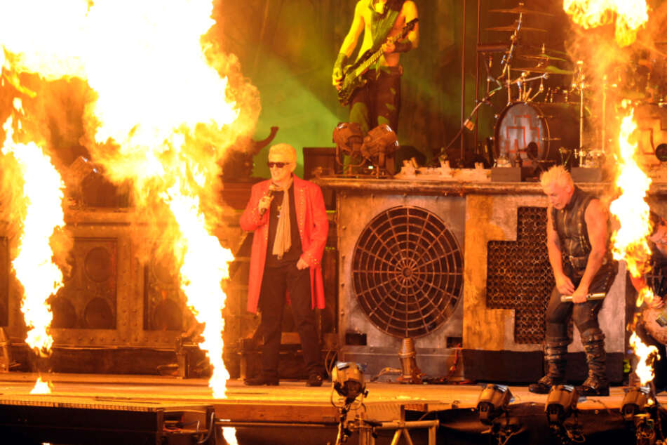 Im Jahr 2013 stand Schlagerstar Heino mit Rammstein auf der Wacken-Bühne.