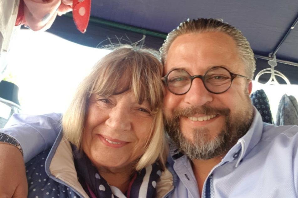 Renate Kämpf (81) und ihr Sohn Andreas (56).