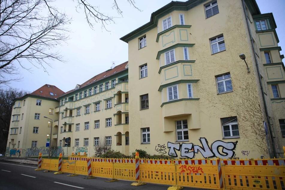 In diesem Pflegeheim in der Leipziger Südvorstadt sind nach einem Corona-Ausbruch 16 Bewohner gestorben.