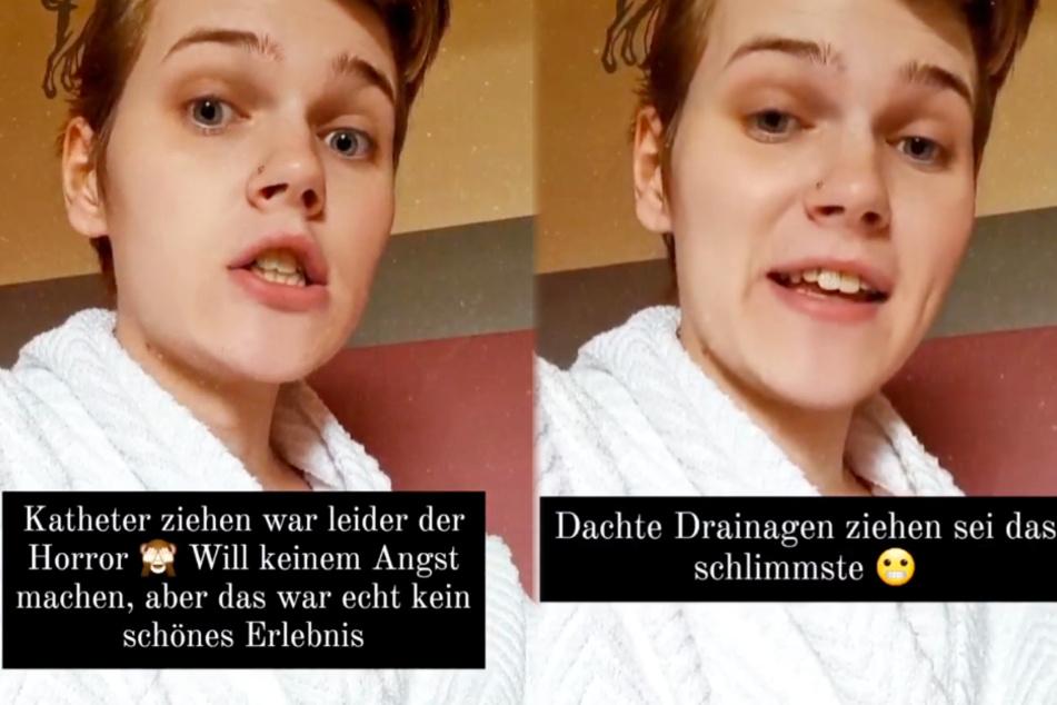 Die junge Transgender-Frau veröffentlichte am Donnerstagnachmittag ein weiteres Instagram-Update zu ihrer Operation.