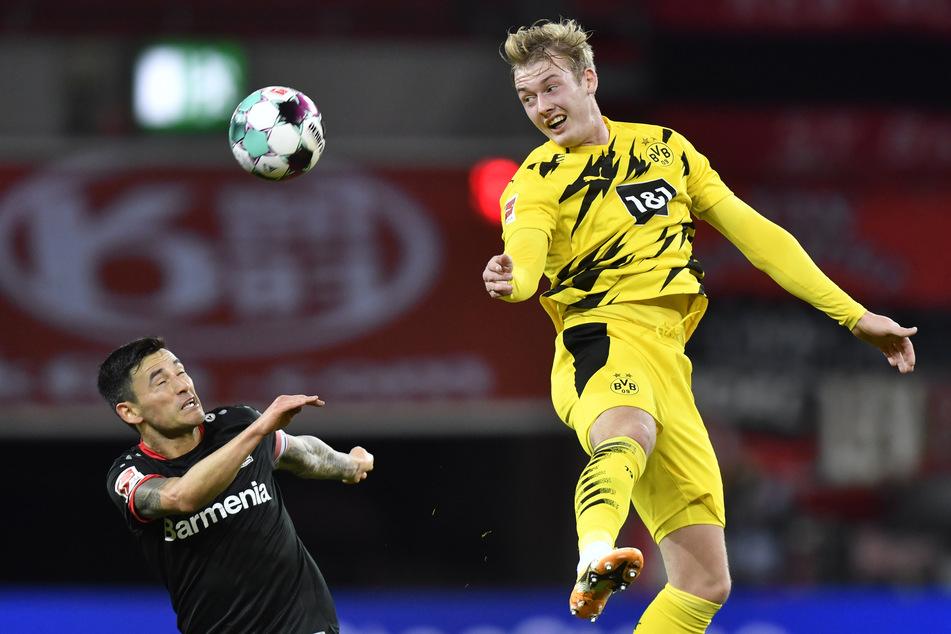 So richtig gefunkt hat es mit Julian Brandt (25, r.) und dem BVB noch nicht. Bei seinem Ex-Klub Bayer 04 Leverkusen sah das noch ganz anders aus.