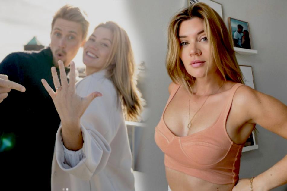 Ex-Bachelorette Nadine Klein ist verlobt! So überraschend kam der Antrag