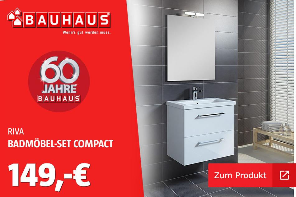 Badmöbel-Set 'Compact' für 149 Euro.