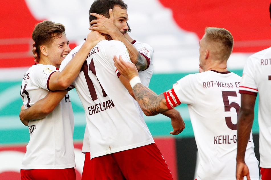 Rot-Weiß Essen sorgte für die bislang größte Überraschung im DFB-Pokal.