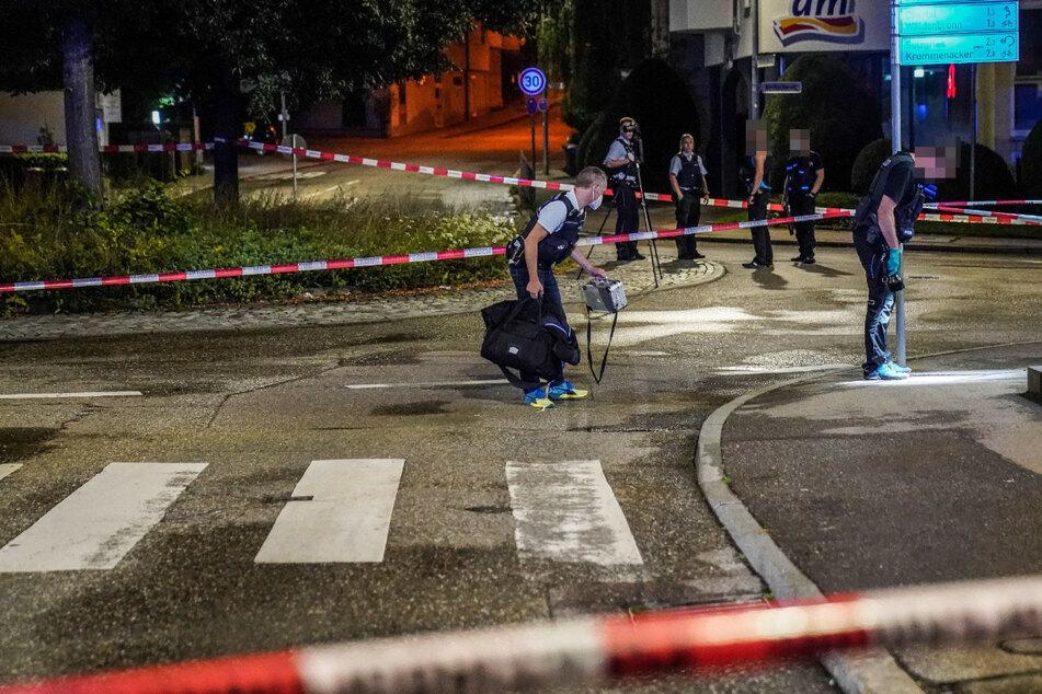 Schüsse fallen bei Auseinandersetzung zweier Gruppen in Esslingen: Ein Verletzter