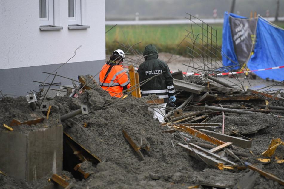 Vier Tote bei Bau-Unglück: Ermittler hoffen auf wichtige Hinweise von der Obduktion