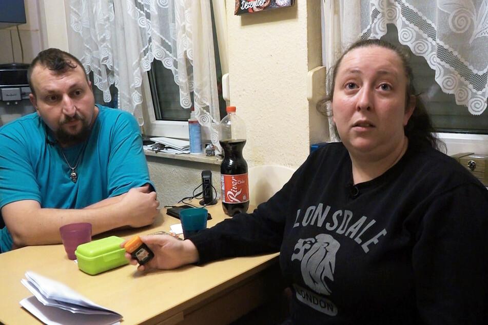 Sascha (42) und Petra (32) haben wieder einen Job gefunden.