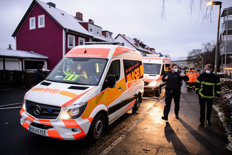 Mehr als 8000 Menschen müssen Wohnung verlassen: Vier Bomben gesprengt