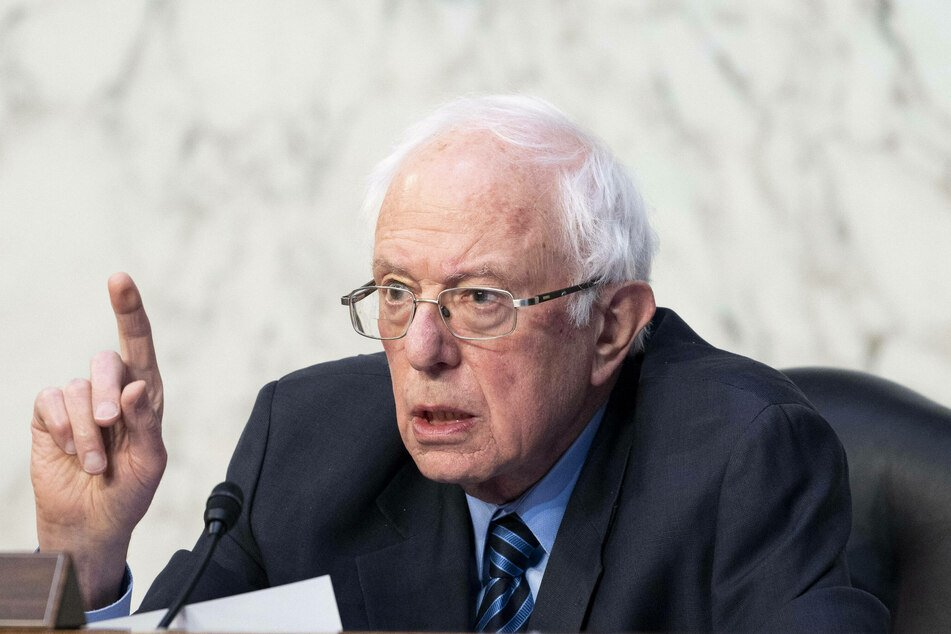 Independent Sen. Bernie Sanders condemns Donald Trump but banning him from Twitter didn't sit right with him.