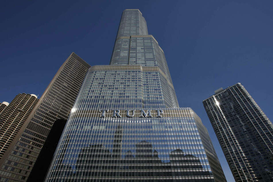 The Trump Tower in Chicago is currently the fourth tallest building in the USA.