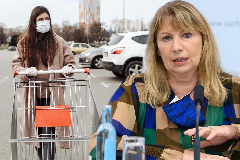 Ab Mittwoch in Sachsen: Maskenpflicht jetzt auch vor Supermärkten, Schulen und Kitas